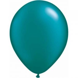 "Pearl Onyx Black Qualatex 11/"" Latex Balloons x 25"